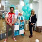 Топ-стилист Ирина Кордас и менеджер по работе с ключевыми партнерами Сергей Козырев