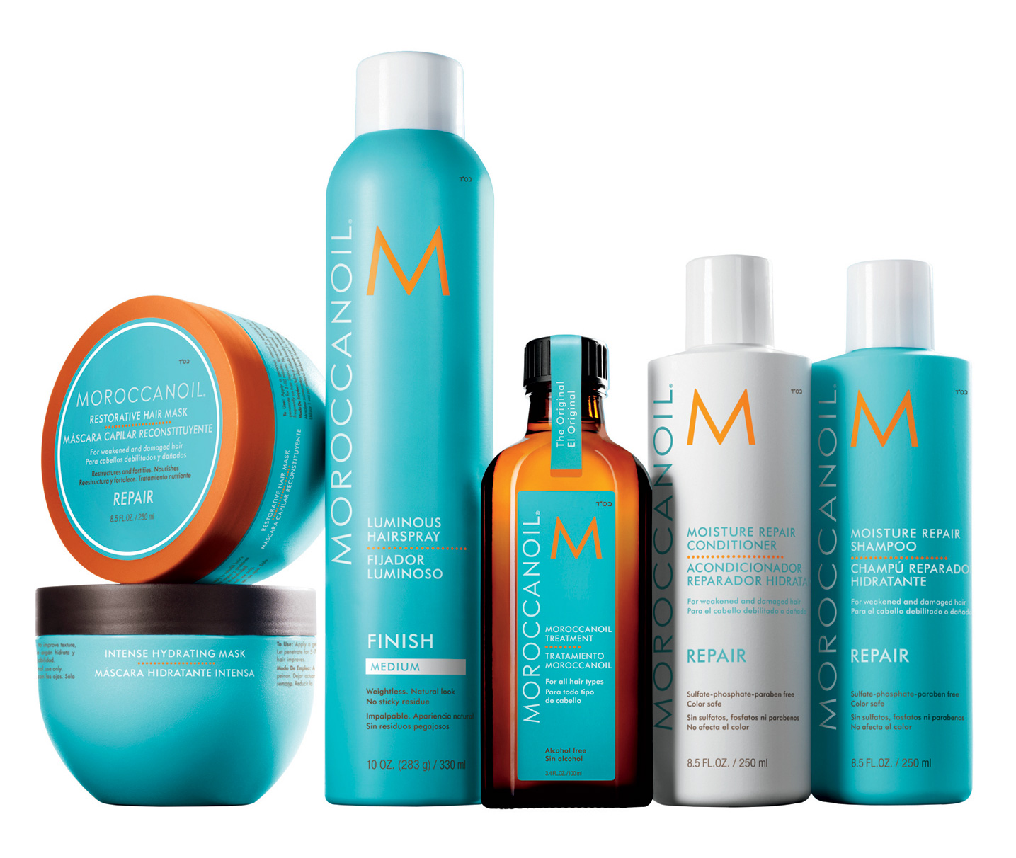 Теперь в Quickly Color Bar в продаже Moroccanoil