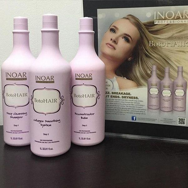 Новинка — Botox для волос от Inoar!